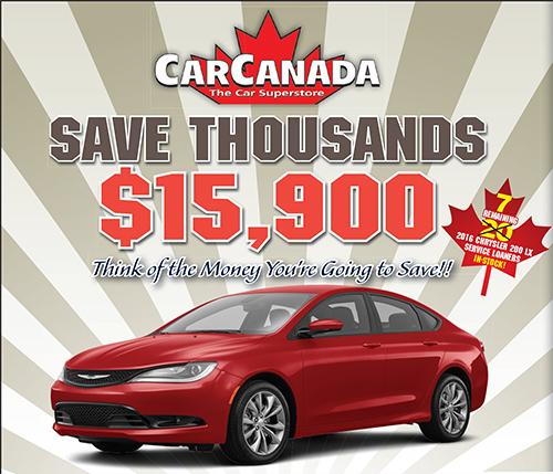 Amazing Deals on Chrysler 200s!